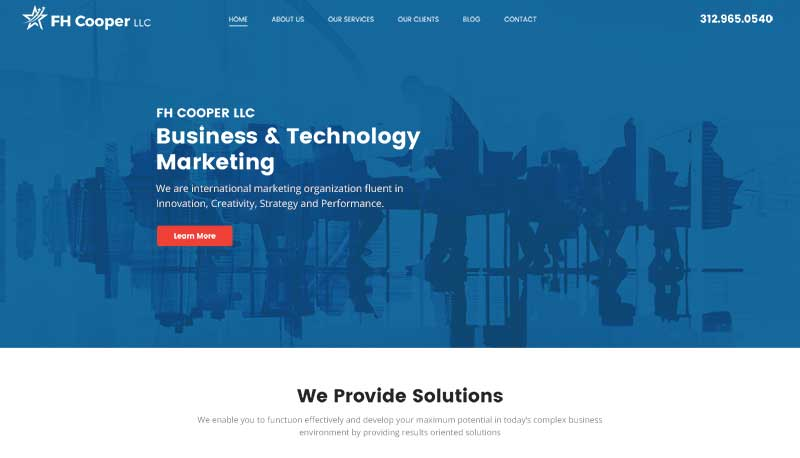 Custom B2B WordPress Design and Development