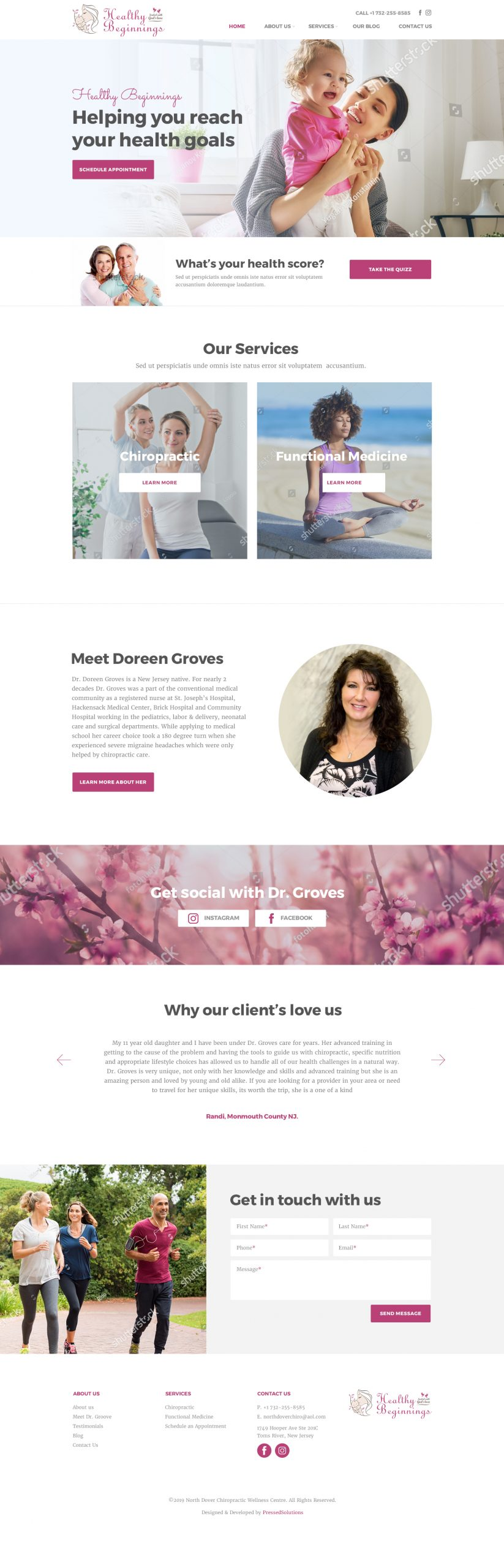 Custom WordPress Functional Medicine Website Design
